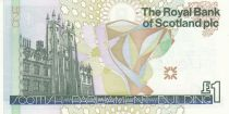 Ecosse 1 Pound Royal Bank of Scotland - Parliament - 1999 - UNC - P.360