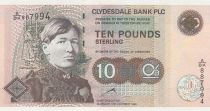 Ecosse 10 Pounds Mary Slessor - 1999