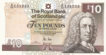 Ecosse 10 Pounds Royal Bank of Scotland - Château Glamis- Neuf - P.353c
