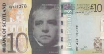Ecosse 10 Pounds Sir Walter Scott - Viaduc - 2009 - Neuf - P.125