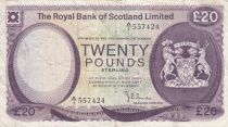 Ecosse 20 Pounds Royal Bank of Scotland - 1779 - P.TTB - P.339