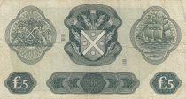 Ecosse 5 Pounds Bank of Scotland - 1969 - P.TTB - P.110b