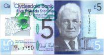 Ecosse 5 Pounds Sir William Arrol (1839-1913) - Pont - Polymer 2015