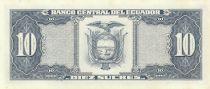 Ecuador 10 Sucres 1988 - Sebastian de Benalcazar