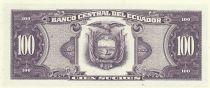 Ecuador 100 Sucres 1990 - Simon Bolivar