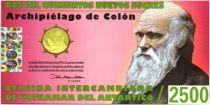 Ecuador 2500 Sucres, Charles Darwin - Auk 2010