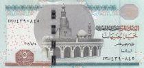 Egypt 5 Pounds Mosque of Ibn Toulon - 2018 - UNC - P.72