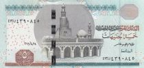 Egypt 5 Pounds Mosque of Ibn Toulon - 2018 - UNC - P.72