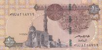 Egypte 1 Pound Mosquée Sultan Quayet Bey - 2016 - Neuf - P.71b
