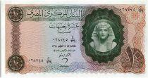 Egypte 10 Pounds Toutankhamon  - 1964