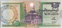 Egypte 20 Pounds Mosquée  - 1986