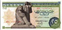 Egypte 25 Piastres - Sphinx - 1972