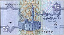 Egypte 25 Piastres 1989 - Mosquée - Sign.18