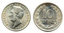 El Salvador 10 Centavos - Francisco Morazan - 1985