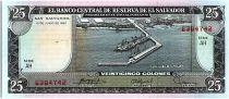 El Salvador 25 Colones, C.Colomb, Port - 1980