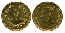 El Salvador 3 Centavos