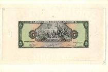 El Salvador 5 Colones J.M. Delgado - C. Colombus - 1960/11/09