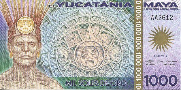 Empire Maya 1000 Soles de Oro, Maya - Pyramide de Tikal (Fin du Monde 21-12-2012) - 2012