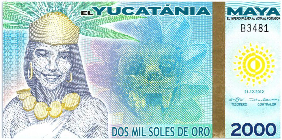 Empire Maya 2000 Soles de Oro, Maya - Pyramide (Fin du Monde 21-12-2012) - 2012