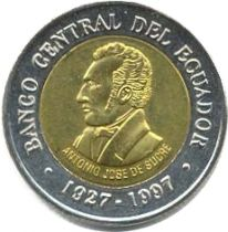 Equateur 100 Sucres