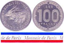Equatorial African States 100 Francs - 1966 - Test strike