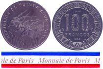Equatorial Guinea 100 Francos - 1985 - Test strike