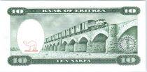 Eritrea 10 Nakfa - Three girls - Bridge - 1997