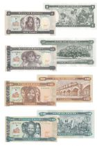 Eritrea Set of 4 banknotes from Eritrea - (1997-2012)