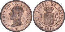 Espagne 1 centimo - Alfonso XIII  - 1912 - SPL