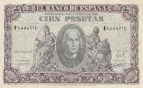 Espagne 100 Pesetas - Christophe Colomb - 1940 - TTB - P.118