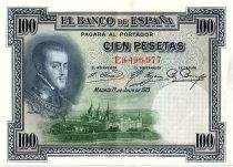 Espagne 100 Pesetas - Felipe II - 1925 - TTB + Série E - P.69