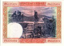 Espagne 100 Pesetas - Felipe II - 1925 - XF Série F - P.69