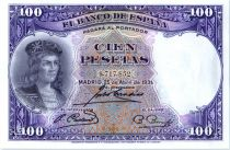 Espagne 100 Pesetas - G.F. Cordoba - 1931