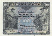 Espagne 100 Pesetas Femmes assises - 1906 Série A