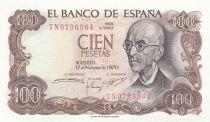 Espagne 100 Pesetas Manuel de Falla - 1970