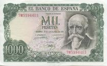 Espagne 1000 Pesetas José Echegaray - Madrid