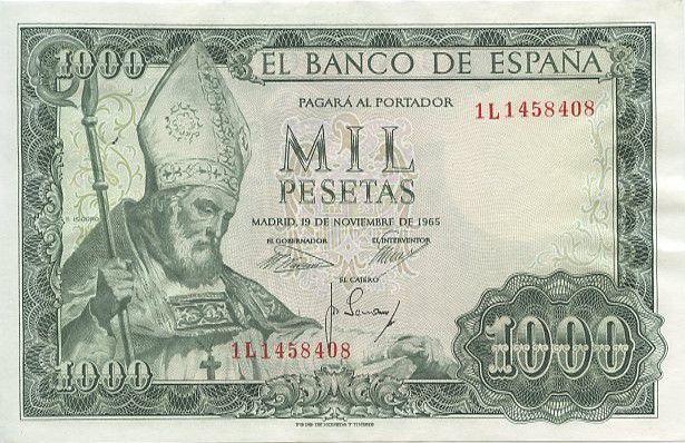 Espagne 1000 Pesetas San Isidoro