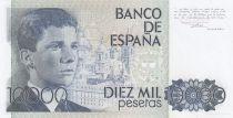 Espagne 10000 Pesetas 1985 - Juan Carlos - Prince Felipe - Sans Préfixe