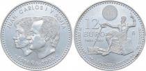 Espagne 12 Euros Juan Carlos et Sofia - Don Quichotte 2005