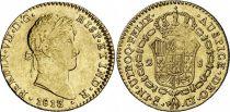 Espagne 2 Escudos Ferdinand VII - Armoiries 1813 CJ Cadiz