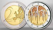 Espagne 2 Euros Cordoba, colorisée