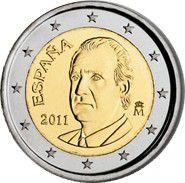Espagne 2 Euros Juan Carlos I - 2011