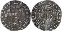 Espagne 2 réales Ferdinand & Isabel (1469-1504) - Séville