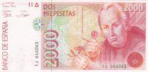Espagne 2000 Pesetas  - José Celestino Mutis - 1992 série 1J