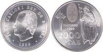 Espagne 2000 Pesetas St Jacques de Compostelle - 1999