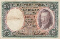 Espagne 25 Pesetas 1926 - Saint François Xavier31 - Vicente Lopez