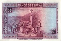 Espagne 25 Pesetas P. Calderon de la Barca - 1928
