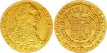 Espagne 4 Escudos Charles III - Armoiries 1774 PJ M Madrid Or
