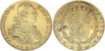 Espagne 4 Escudos Charles IV - Armoiries 1795 M MF - Madrid Or