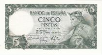 Espagne 5 Pesetas 1954 - Roi Alfonso X